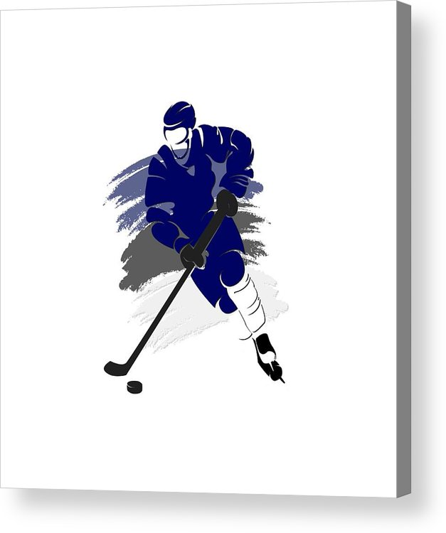 Lightning Acrylic Print featuring the photograph Tampa Bay Lightning Player Shirt by Joe Hamilton