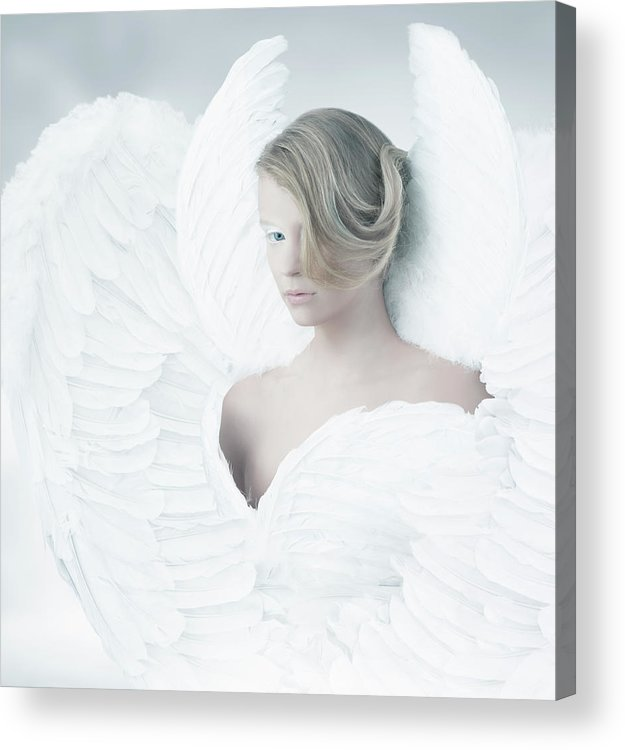People Acrylic Print featuring the photograph Angel by Colin Anderson