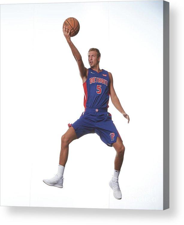 Nba Pro Basketball Acrylic Print featuring the photograph Luke Kennard by Nathaniel S. Butler