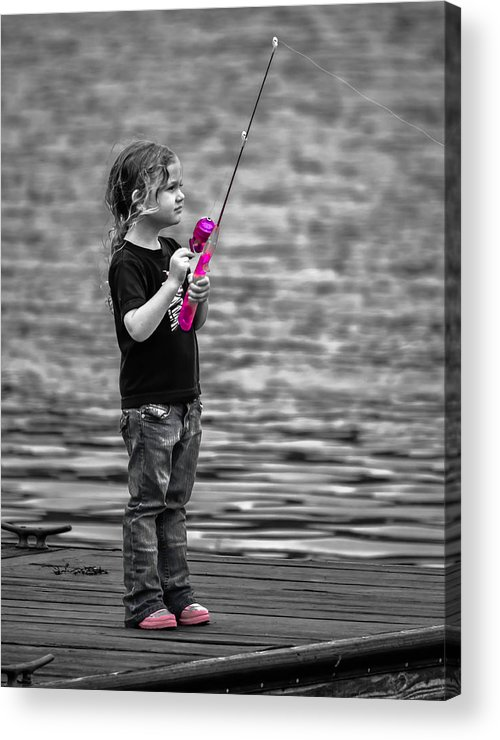 Angler Acrylic Print featuring the photograph Pretty In Pink by Brian Stevens