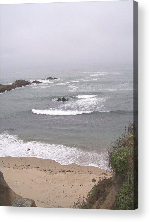 Coast Acrylic Print featuring the photograph Coastal Scene 2 by Pharris Art