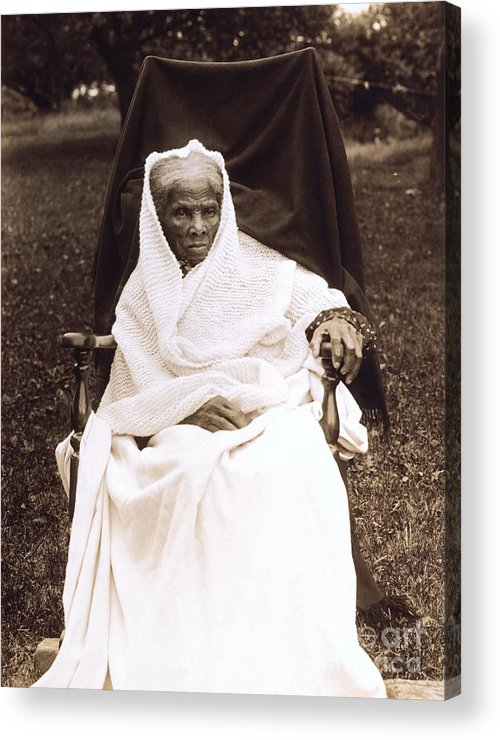 Douglass Acrylic Print featuring the photograph Harriet Tubman Portrait 1911 by Unknown