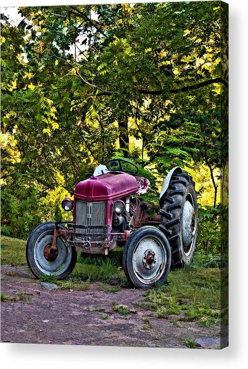 West Virginia Acrylic Print featuring the photograph Left Fielder by Steve Harrington