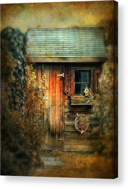 Shed Acrylic Print featuring the photograph The Shed by Jessica Jenney