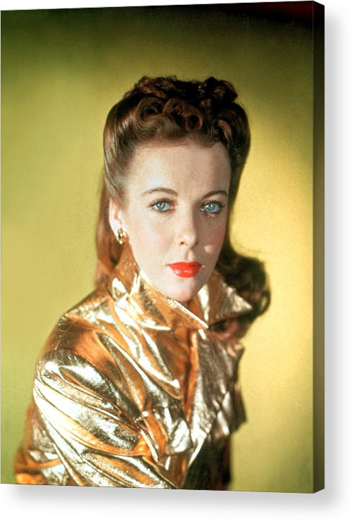 1940s Acrylic Print featuring the photograph Ida Lupino by Everett