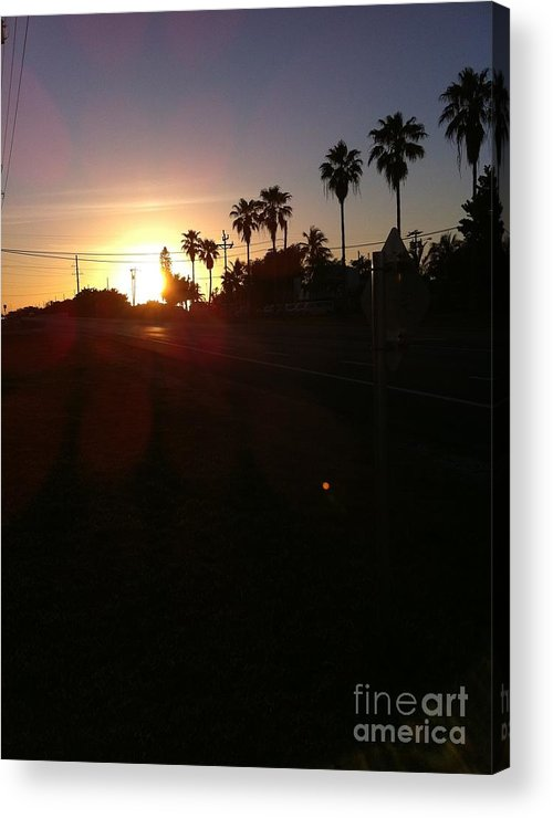 Florida Acrylic Print featuring the photograph Florida Sunrise by Richard Chapman