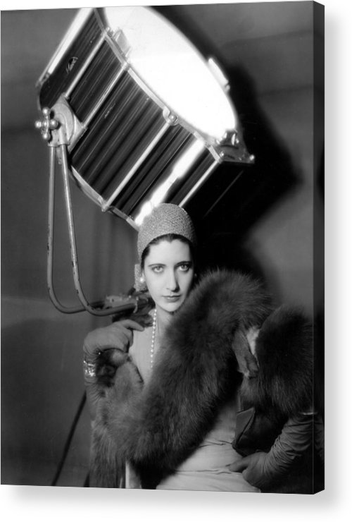 1920s Fashion Acrylic Print featuring the photograph Kay Francis Around 1930 by Everett