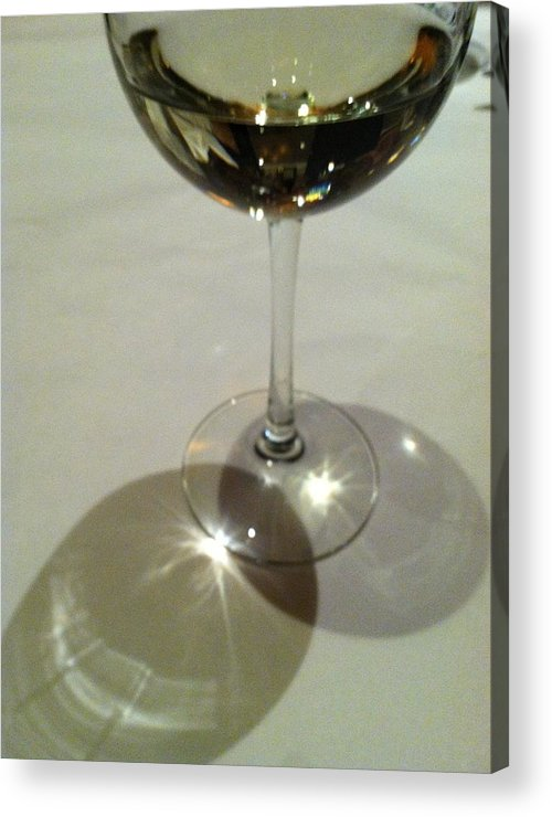 White Wine Acrylic Print featuring the photograph Sweetest Day by Anna Villarreal Garbis