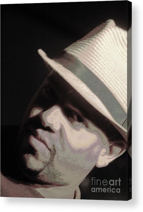 Singer Acrylic Print featuring the photograph The Alchemystic by Jesse Ciazza