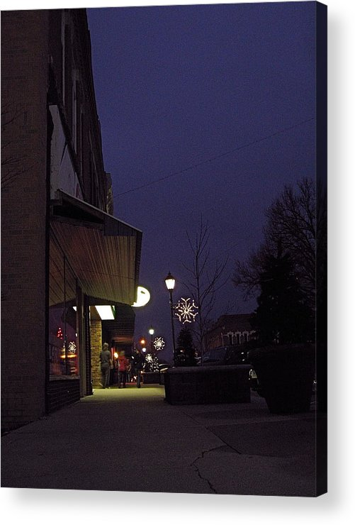 Iowa Acrylic Print featuring the photograph Walkway by Big Mike Roate