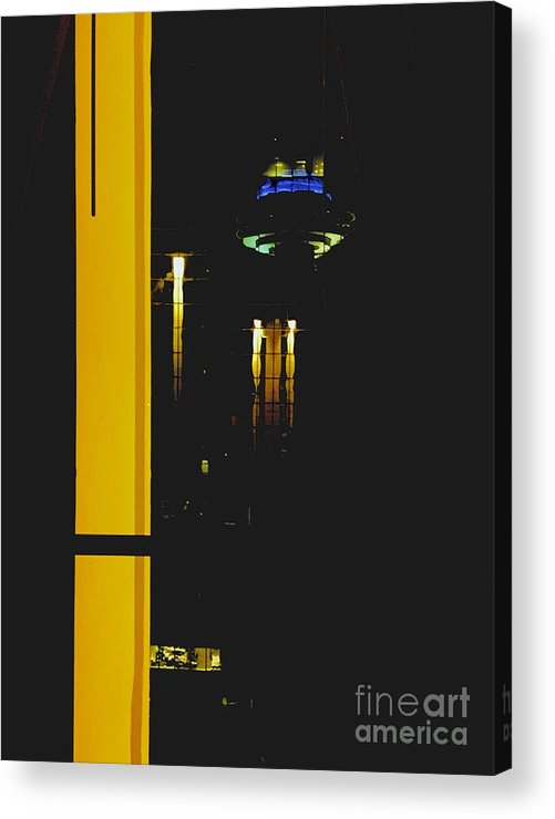 Urban Acrylic Print featuring the photograph 09032015007 by Debbie L Foreman