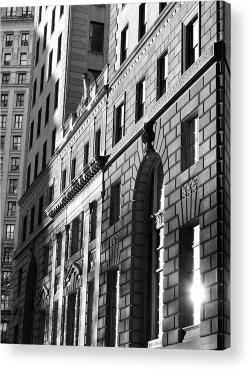 New York City Acrylic Print featuring the photograph Untitled by David Alford