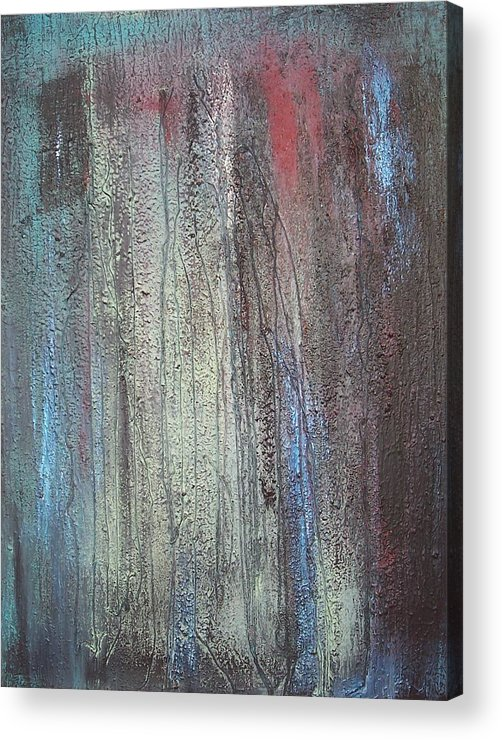 Paintings Acrylic Print featuring the painting Black No 2 Sold by Elizabeth Klecker