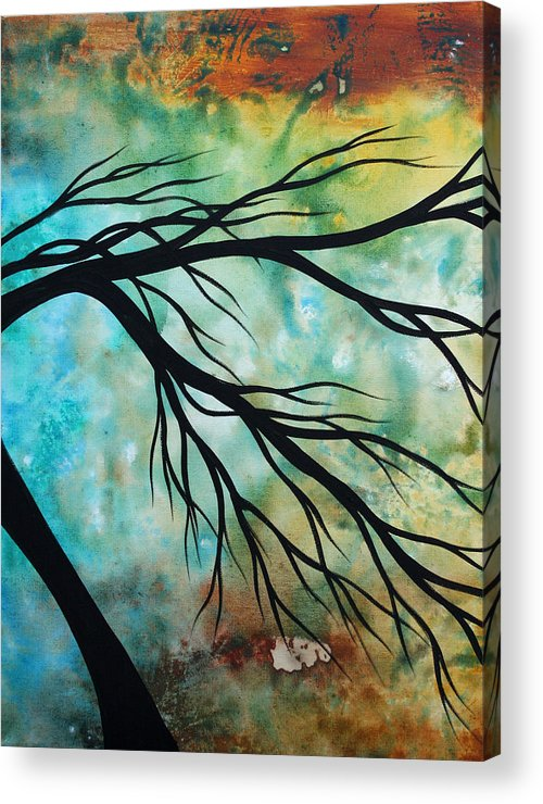 Art Acrylic Print featuring the painting Breathless 2 By Madart by Megan Duncanson