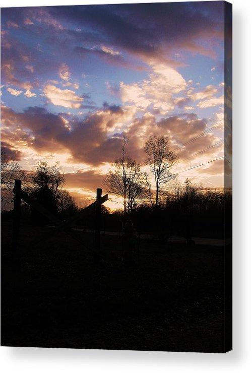 Landscape Acrylic Print featuring the photograph Daybreak by Nikki Mansur