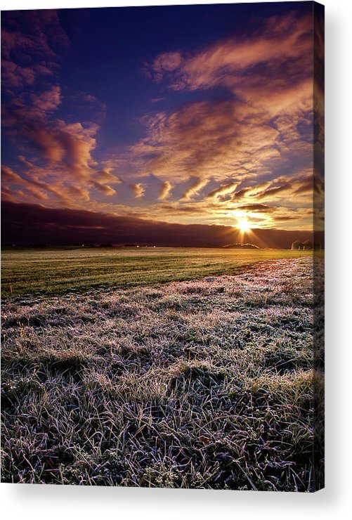 Light Acrylic Print featuring the photograph Flushing Frost by Phil Koch