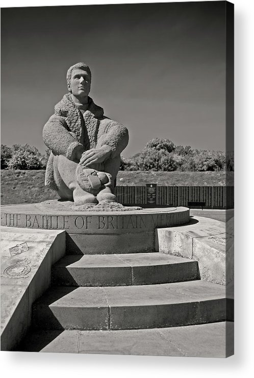 Battle Of Britain Acrylic Print featuring the photograph Keeping Watch by Bel Menpes