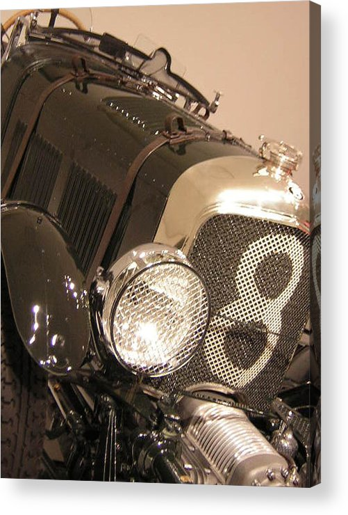 Car Acrylic Print featuring the photograph No. 8 by Heather Weikel