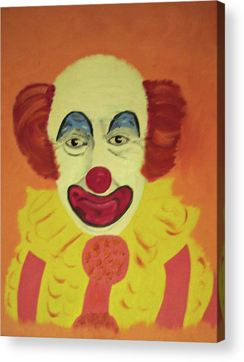 Happy Smiles Acrylic Print featuring the painting No Tears by James Jones