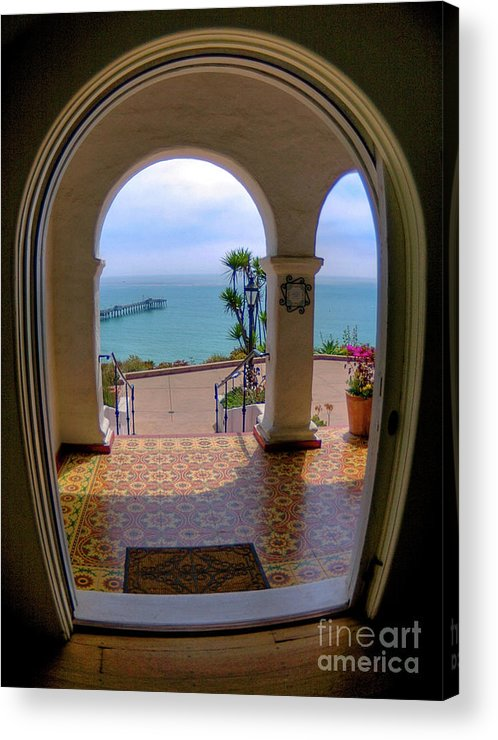 Blur Acrylic Print featuring the photograph Ocean View by Kim Michaels
