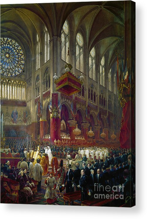 1841 Acrylic Print featuring the photograph Paris: Notre Dame, 1841 by Granger