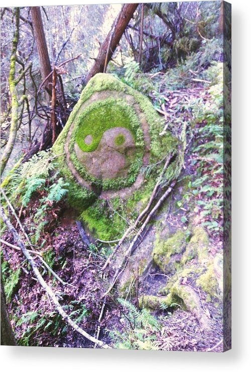 Nature Acrylic Print featuring the photograph Stone Of Peace by Danielle Yandell