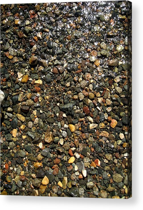 Landscape Acrylic Print featuring the photograph Stream Of Diamonds by Albert Almondia