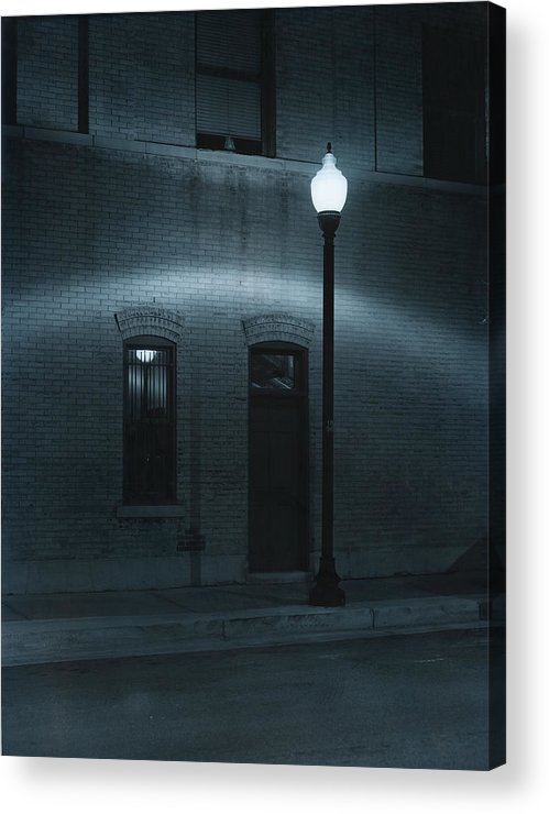 Street Light Acrylic Print featuring the photograph Street Lamp Arc by Jim Furrer