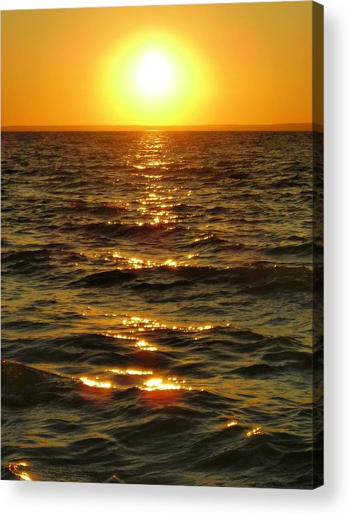 Sunset Acrylic Print featuring the photograph Sunset by Peter Mowry