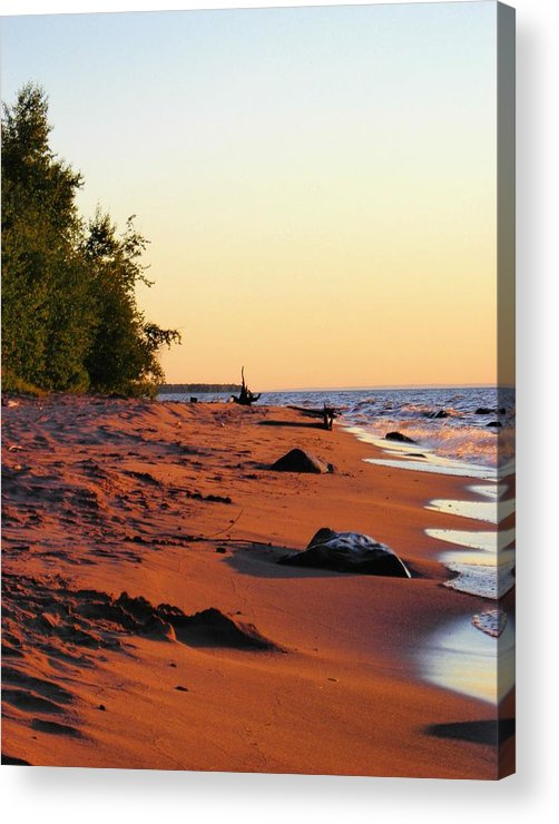 Beach Acrylic Print featuring the photograph The Sands Of Dusk by Peter Mowry