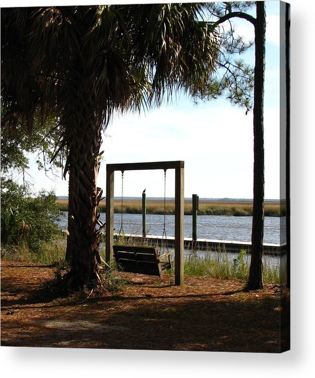 Ogeechee River Acrylic Print featuring the photograph Peaceful Afternoon by J M Farris Photography