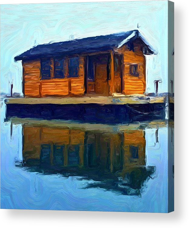 Acrylic Print featuring the photograph PR2 by Jeffrey Canha