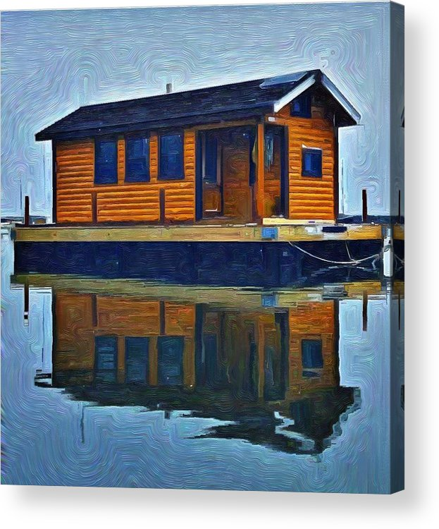 Acrylic Print featuring the photograph PR6 by Jeffrey Canha