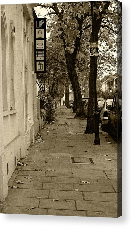 London Acrylic Print featuring the photograph A London Street I by Ayesha Lakes