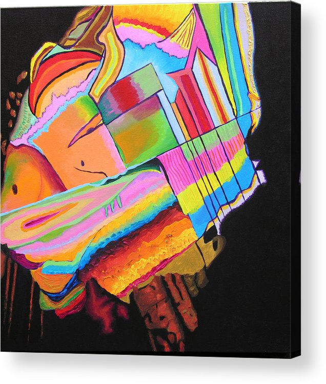 Abstract Acrylic Print featuring the painting Inspire V by Stan Hamilton