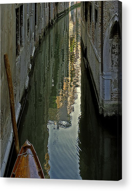 Acrylic Print featuring the photograph Venice 3 by Victor Yekelchik