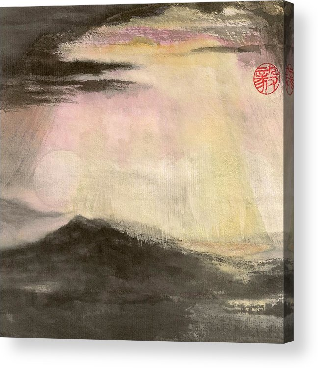Japanese Acrylic Print featuring the painting Hope by Terri Harris