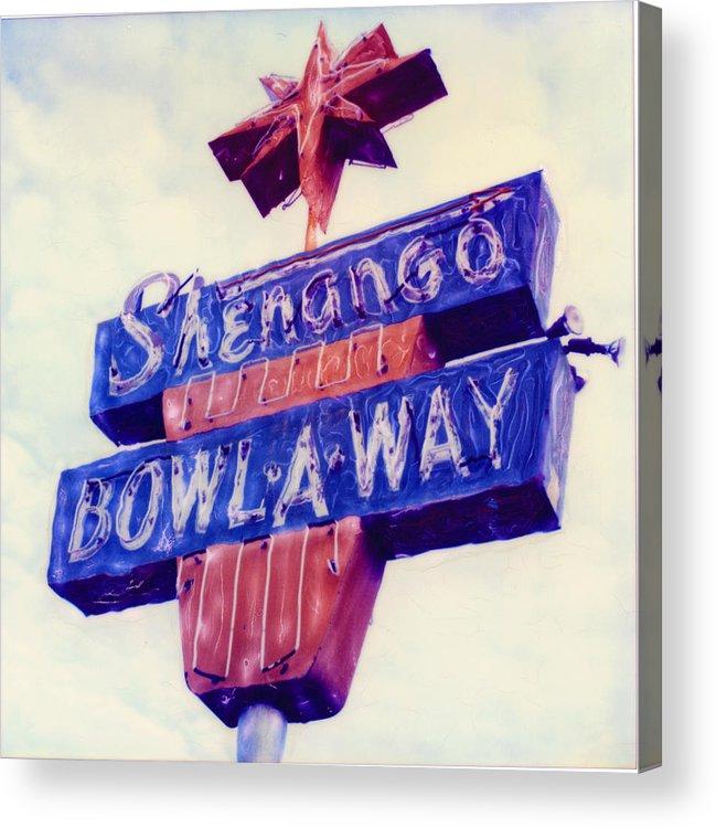 Nostalgia Acrylic Print featuring the photograph Shenango Bowl-a-way by Steven Godfrey