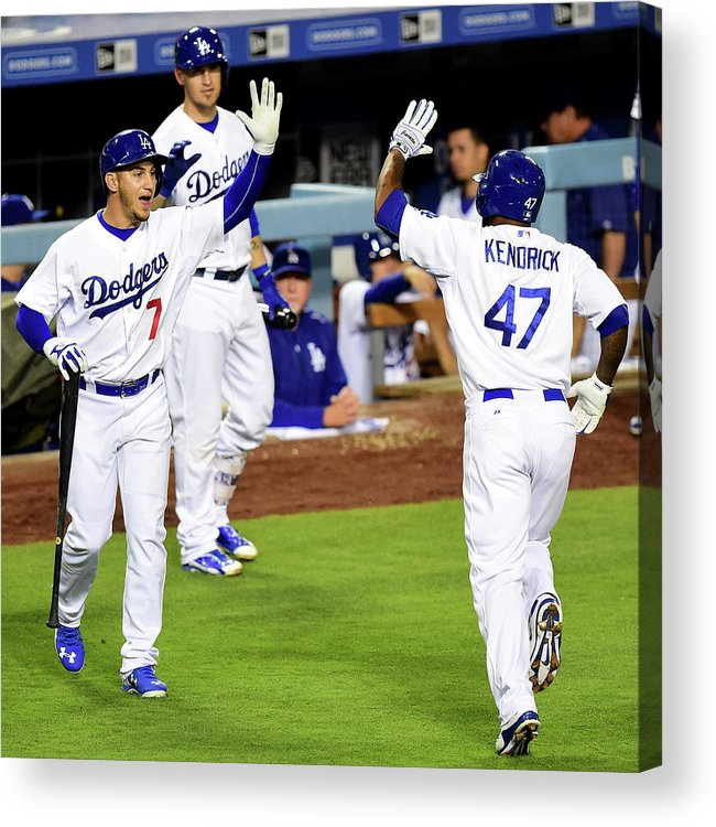 People Acrylic Print featuring the photograph Howie Kendrick by Harry How