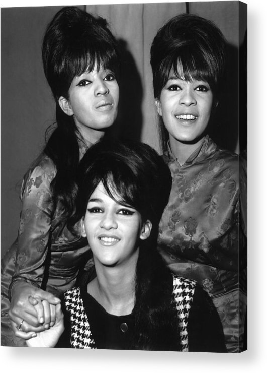 Ronettes Acrylic Print featuring the photograph Ronettes by Chris Walter