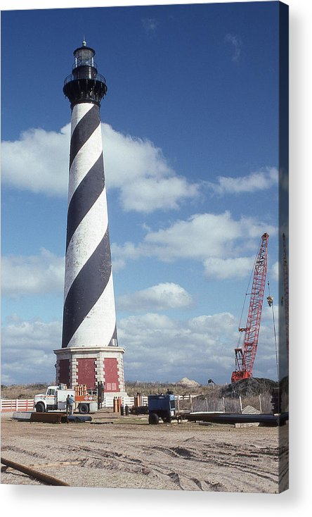Cape Hatteras Light Acrylic Print featuring the photograph Cape Hatteras Light by Herbert Gatewood
