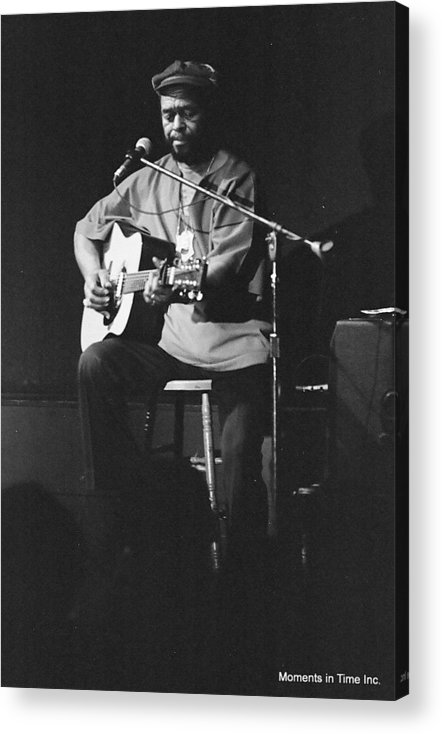 Music Acrylic Print featuring the photograph Brownie Mcgee 1960s by Glenn McCurdy