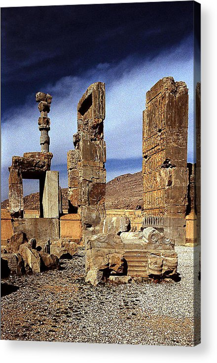 Persepolis Acrylic Print featuring the photograph Roar by Robert Shahbazi