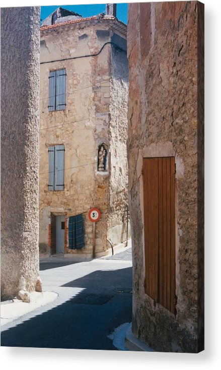 Provence France Acrylic Print featuring the photograph Beaumes De Venise by Gary Peterson