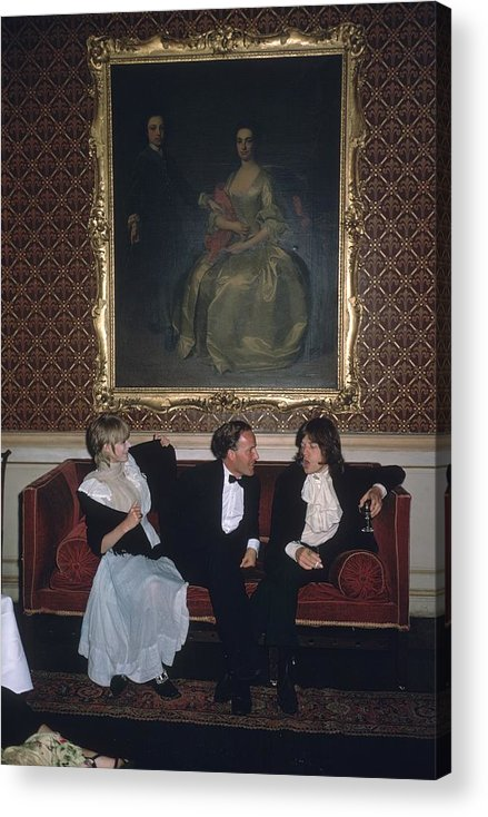 Rock Music Acrylic Print featuring the photograph Pop And Society by Slim Aarons
