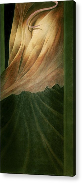 Figure Acrylic Print featuring the painting The Countess by James LeGros