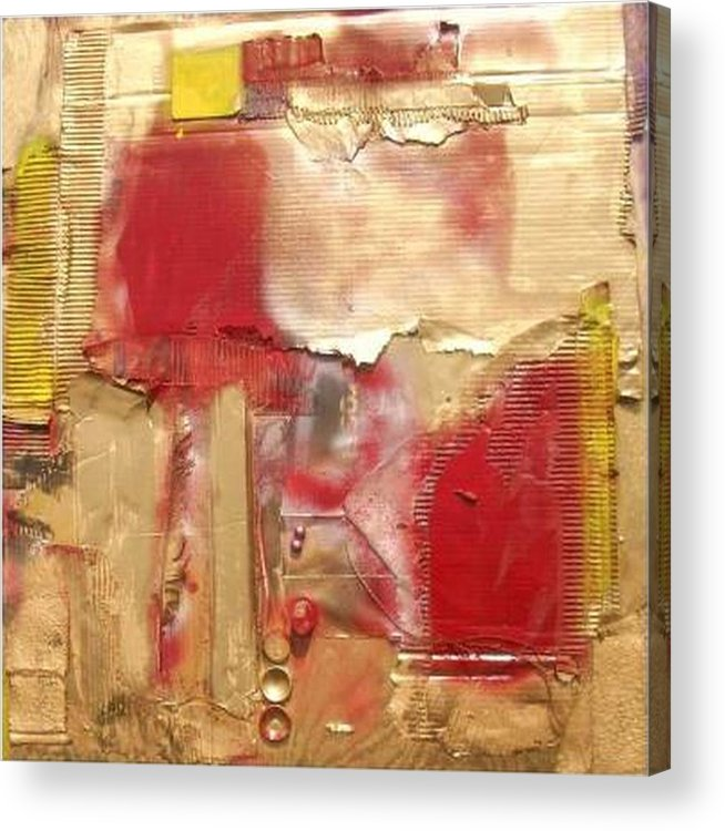 Mixed Media Acrylic Print featuring the mixed media ...............................assemblage by Wiola Anyz