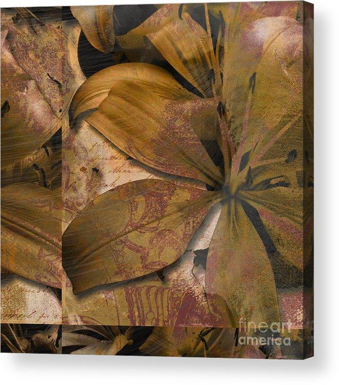 Acrylic Print featuring the mixed media Alexia II by Yanni Theodorou
