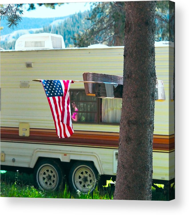 American Acrylic Print featuring the photograph American Culture by Dean Drobot