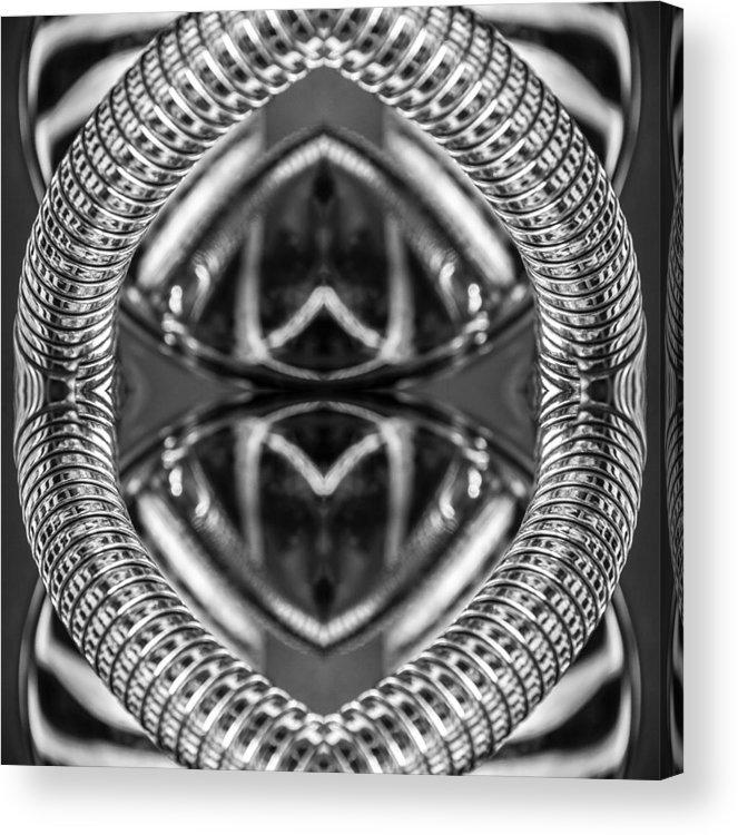Abstract Acrylic Print featuring the photograph Chromata by Gene Hilton